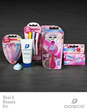 50% Off Shai 6 Beauty Kit @Dorco USA, Dealmoon exclusive!