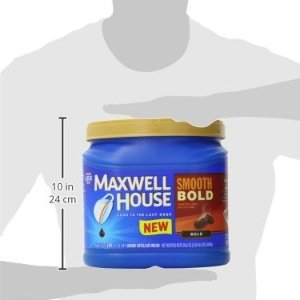$5.44 Maxwell House Smooth Bold Ground Coffee 30.6 Ounce