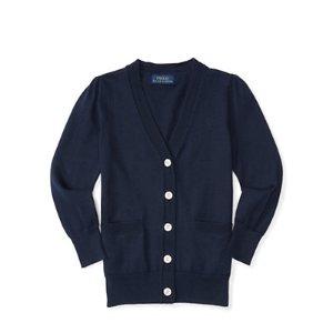 Pima Cotton Cardigan - Sweaters � Little Kid (sizes 2-6x) - RalphLauren.com