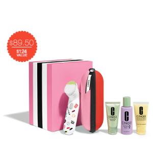 Sweet Sonic Brush Set For Drier Skins (Skin Type I/II) | Clinique