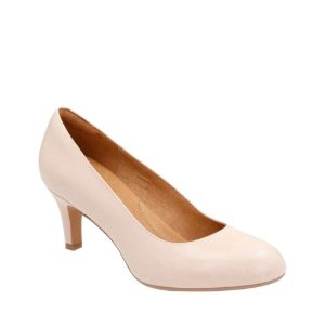 Heavenly Heart Nude Leather