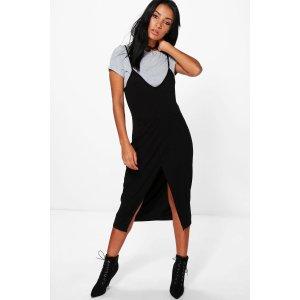 Morgane Wrap 2 in 1 Slip Dress