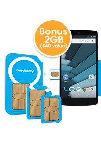$0.99 + Free Shipping! 100% Free Mobile Phone Servicewith Global 3-in-1 SIM Kit + Free 2GB Bonus