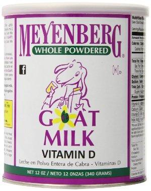 $9.21包邮销量冠军!Meyenberg 全脂山羊奶粉(含维他命D) 12盎司