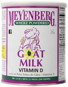 $9.02 Meyenberg Whole Powdered Goat Milk, Vitamin D, 12 Ounce