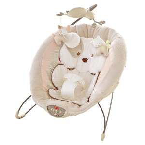 Fisher-Price My Little Snugapuppy Deluxe Bouncer - Fisher-Price - Babies