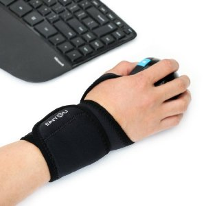 Einyou Monolithic Wrist and Thumb Support -No Need for Wrist Braces - One Size Adjustable