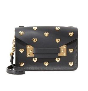 Sophie Hulme Heart Stud Nano Envelope Bag @ shopbop.com
