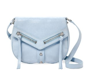$59.99(reg.$248) Botkier Trigger Small Leather Saddle Crossbody