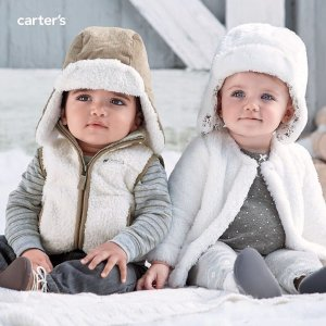 Up to 40% Off + Extra 30% Off $70 + Free Shipping Baby and Kid Winter Collections @ Carter's