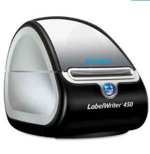 $27.65 (原价$60.99)DYMO LabelWriter 450便携式热敏标签打印机