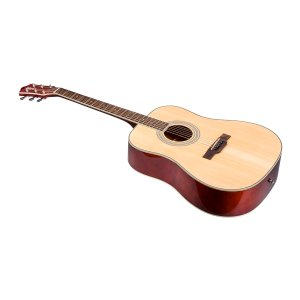Idyllwild Foothill Acoustic Guitar with Gig Bag, Natural - Monoprice.com
