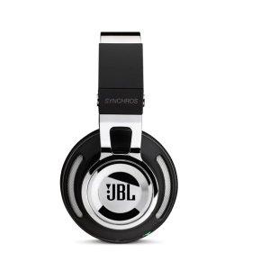 JBL Synchros Chrome Edition  Powered Over-Ear Headphones with Mic