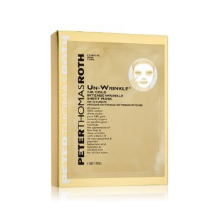 Peter Thomas Roth Un-wrinkle® 24K Gold Intense Wrinkle Sheet Mask - BeautifiedYou.com
