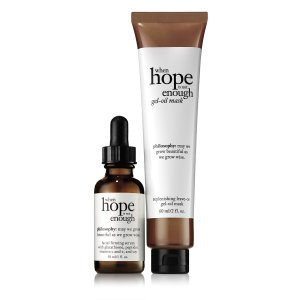 when hope is not enough day and night duo| serum | philosophy when hope is not enough