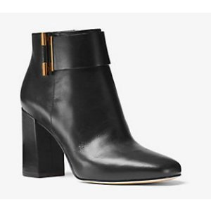 MICHAEL MICHAEL KORS Gloria Leather Ankle Boot