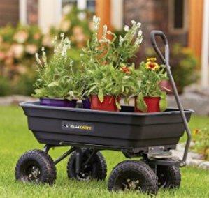 From $56.99 Gorilla Cart Garden & Yard Carts @Amazon