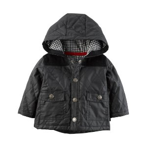 Baby Boy Quilted Cardigan Jacket | Carters.com