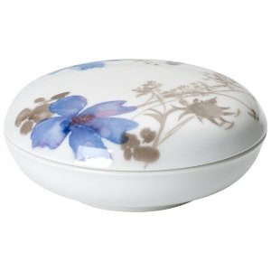 Marifleur Gris Gifts Covered Candy Box 4.25 in - Villeroy & Boch