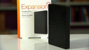 Seagate Expansion Portable Hard Drive 4TB, Black