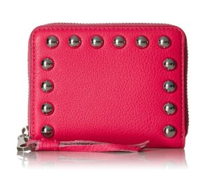 $36.22 Rebecca Minkoff Mini Ava Zip Wallet with Studs Wallet