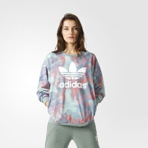 adidas Pastel Camo Crew Sweatshirt - Multicolor | adidas US