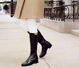 低至5折 马靴超帅气!Tory Burch 官网精选女士长靴、短靴等热卖