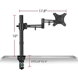 Loctek Full Motion Desk Monitor Arm Swing Mount Stand