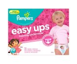 Amazon.com: Pampers Girls Easy Ups Training Underwear, 3T-4T (Size 5), 72 Count: Health & Personal Care