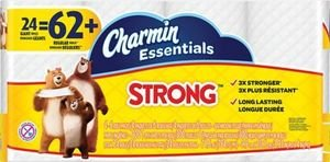 $8613 X Charmin® Essentials Strong Toilet Paper 24 Giant Rolls