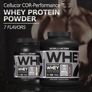 4lb Cellucor Cor-Performance Whey Protein