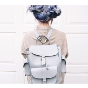GRAFEA 100% Leather Backpack - MISTY - Bags | Unineed | Premium Beauty