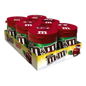 $11.74M&M'S Milk Chocolate Holiday Candy To-Go Bottles 3.5-Ounce Bottle (Pack of 6)