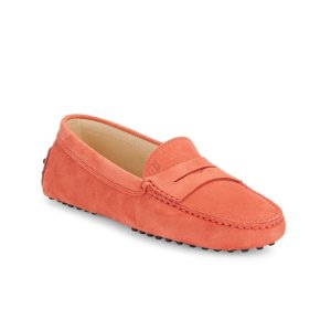 Tod's - Gommini Round-Toe Penny Loafers - saksoff5th.com