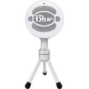 免税包邮 $29.99Blue Microphones  雪球USB麦克风 白色