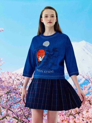 Up to 50% OffWith Maison Kitsune Clothing Purchase @ Farfetch