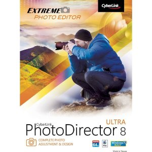 PhotoDirector 8 Ultra - Mac|Windows