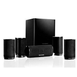 HKTS 9 | 5.1-channel home theater speaker system with powered subwoofer