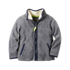Fleece Zip-Up Jacket | Carters.com