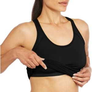 Danskin Now Women's Active Mesh Detail Tank with Built in Bra