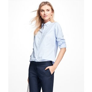Non-Iron Tailored-Fit Dress Shirt - Brooks Brothers