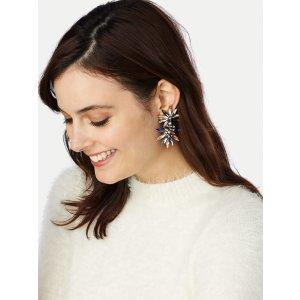 Halcyon 水晶耳环