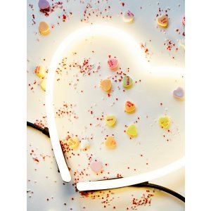 Seletti Neon Heart Light at Free People Clothing Boutique