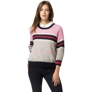 Sheer Wool Stripe Sweater | Tommy Hilfiger USA