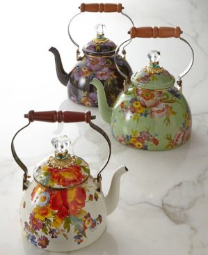 Extra 25% Off MacKenzie-Childs Flower Market and Butterfly Garden Enamelware @ Horchow.com