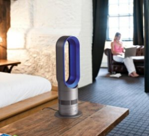 Dyson AM05 Hot + Cool Fan Heater, Blue (Certified Refurbished)