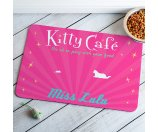 Personalized Kitty Cafe Meal Mat, Pink - Walmart.com