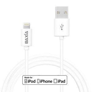 Apple MFi Certified BAXIA TECHNOLOGY® Lightning Cable 1 Meter