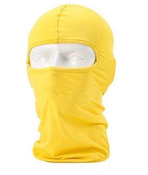 销量冠军!SUNLAND 莱卡滑雪防寒面罩-黄色