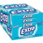 Extra Peppermint Gum, 15-Stick Slim Packs (Pack of 20)